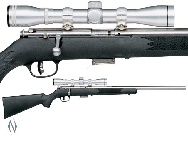SAVAGE 93 22 WMR FVSS S/S SYNTHETIC VARMINT PACKAGE Image