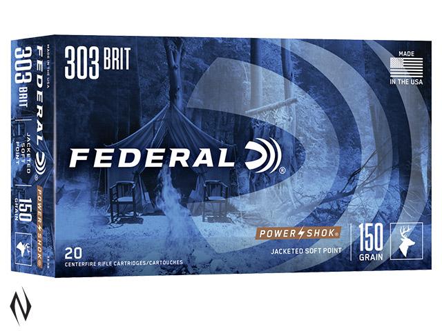 FEDERAL 303 BRITISH 150GR SP POWER-SHOK Image