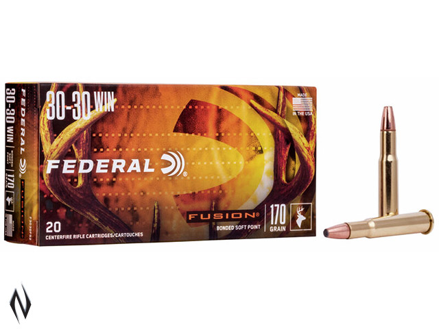 FEDERAL 30-30 WIN 170GR FUSION Image