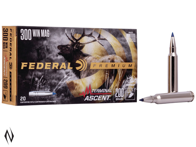 FEDERAL 300 WIN MAG 200GR TERMINAL ASCENT Image