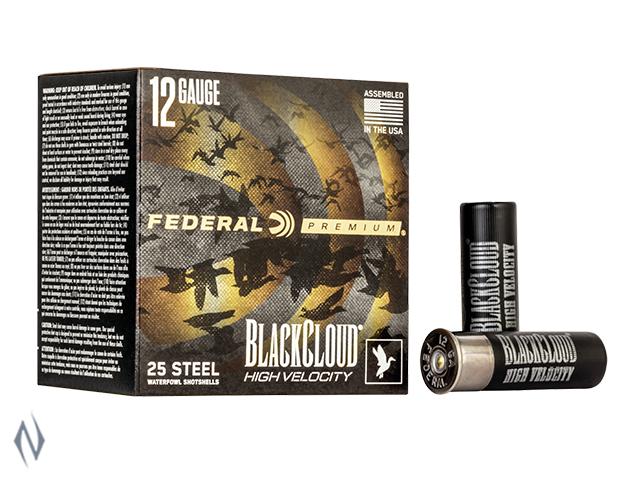 """FEDERAL 12G 3"""" 32GR 4 BLACK CLOUD 1635FPS Image"""
