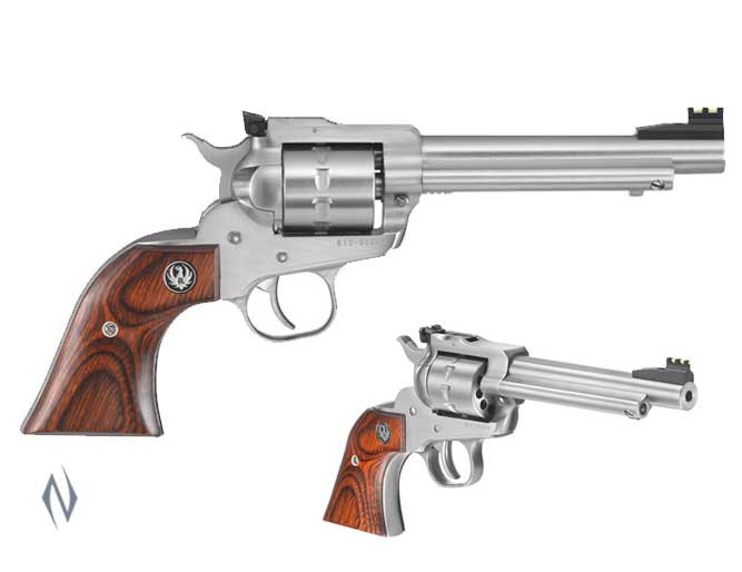 RUGER SINGLE TEN 22LR ONLY STAINLESS 140MM Image