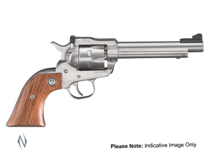 RUGER SINGLE SIX 22LR/22MAG STAINLESS 165MM Image