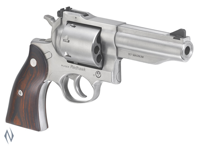 """RUGER NEW REDHAWK 357 MAG 8 SHOT STAINLESS 107MM 4.2"""" Image"""