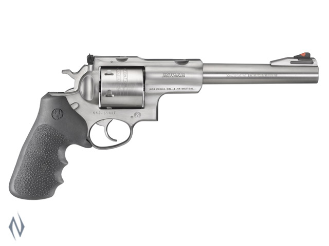 """RUGER SUPER REDHAWK 454 STAINLESS 190MM 7.5"""" Image"""