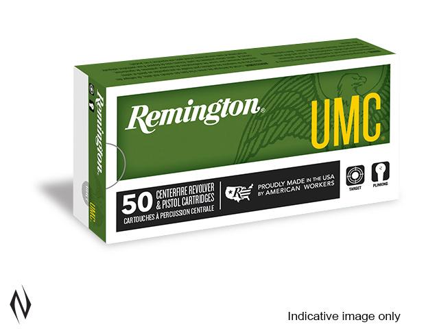 REMINGTON UMC 9MM LUGER 124GR FMJ 50 PK Image