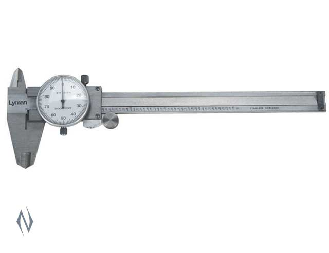 LYMAN STAINLESS STEEL DIAL CALIPER Image