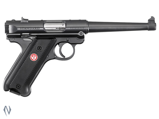 RUGER MKIV 22LR STANDARD BLUED 152MM Image