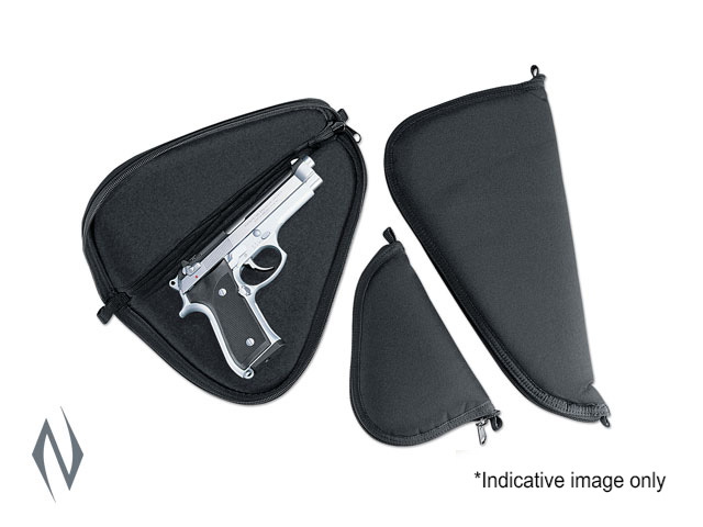 """UNCLE MIKES PISTOL RUG BLACK SMALL 8"""" Image"""