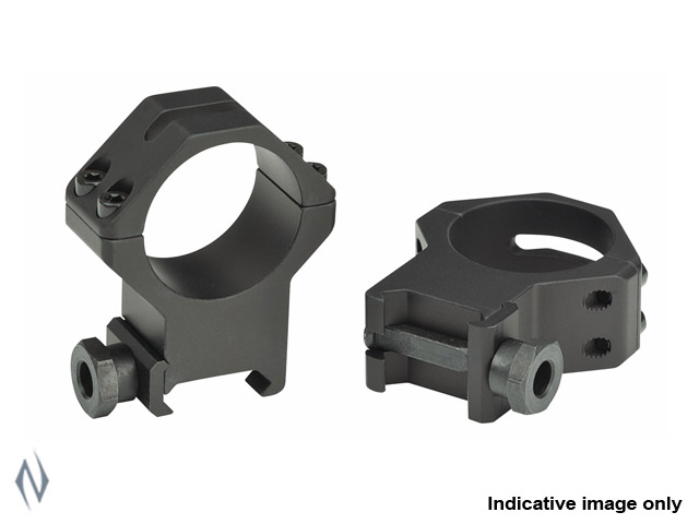 WEAVER TACTICAL RINGS 4 HOLE 30MM LOW MATTE Image